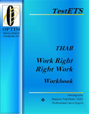 THAB WorkRight RightWork Workbook a Career Ability Aptitude Career Test Clarifying Manual